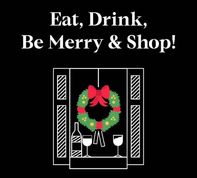 eat drink be merry and shop special